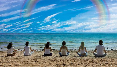 仲良し瞑想会